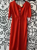Topshop Red Polka Dot Dress 6