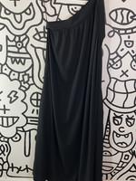 Helmut Lang One Shoulder Mid Dress M