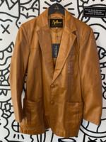 Adler Vintage Brown Leather Jacket M