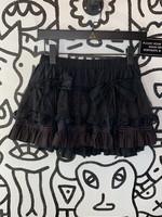 Tripp NYC Black Layered Skirt S