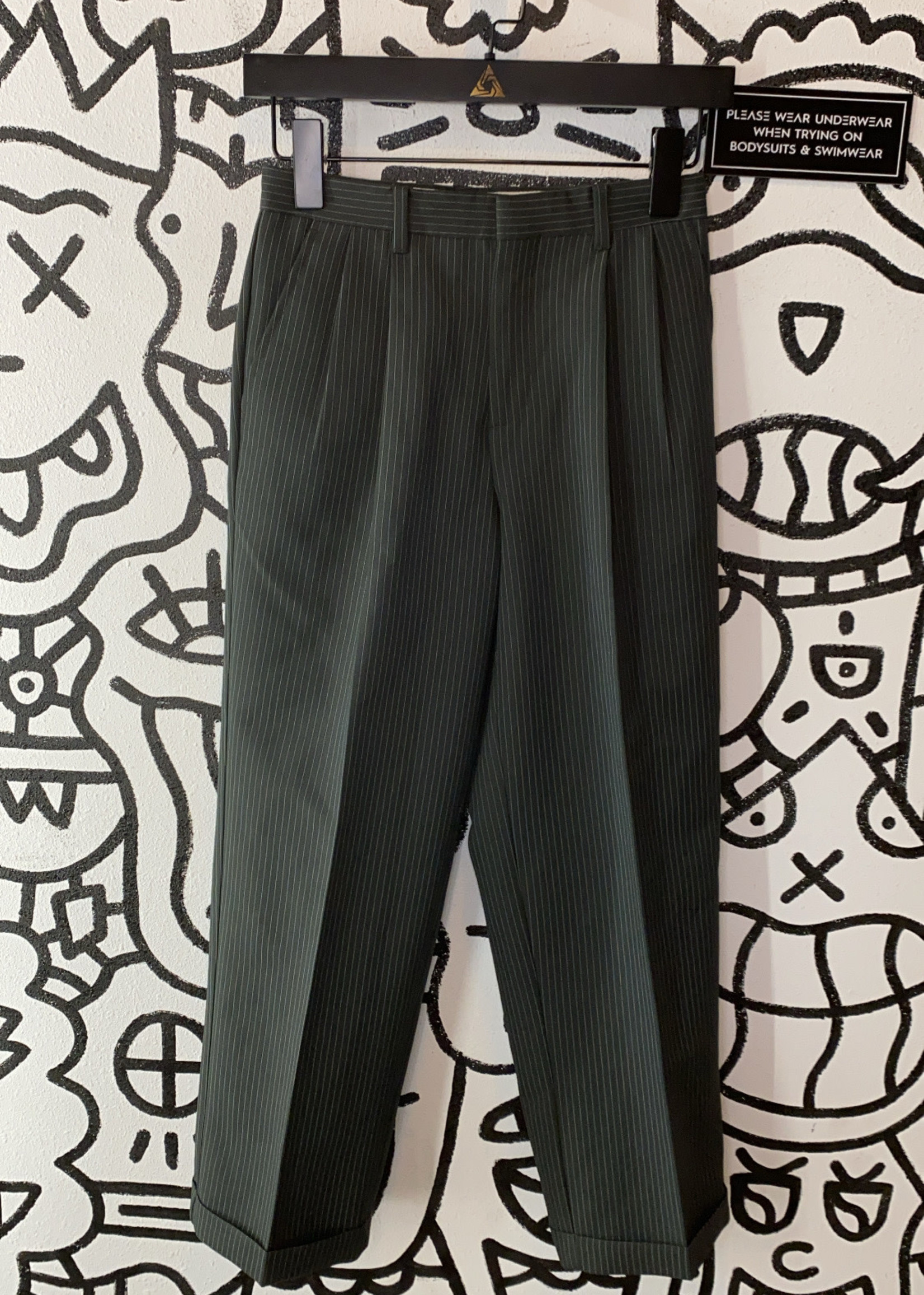 "Young Kings Vintage Pinstripe Pants 25"""