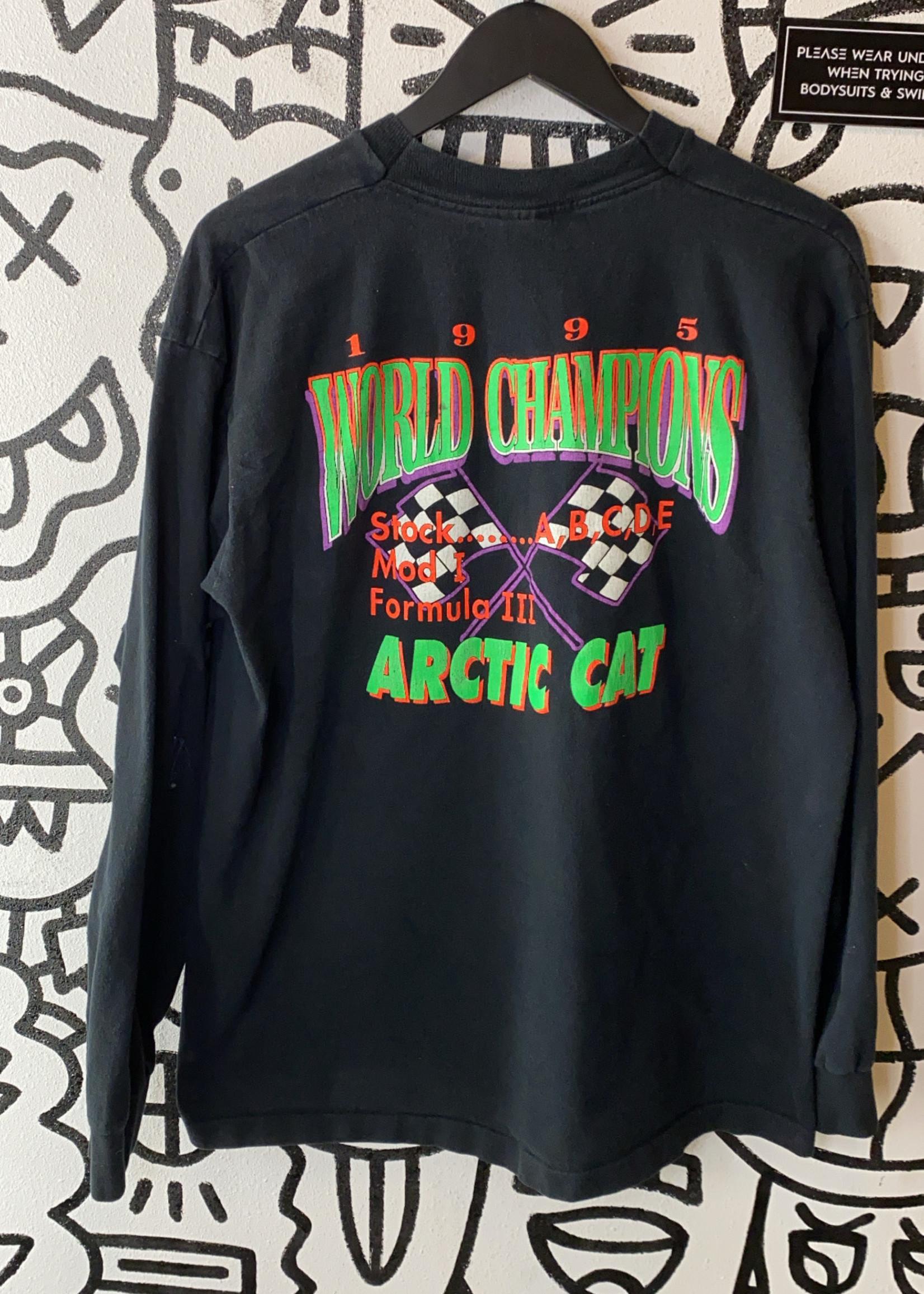 1995 Eagle River World Championships Vintage Black Long Sleeve XL