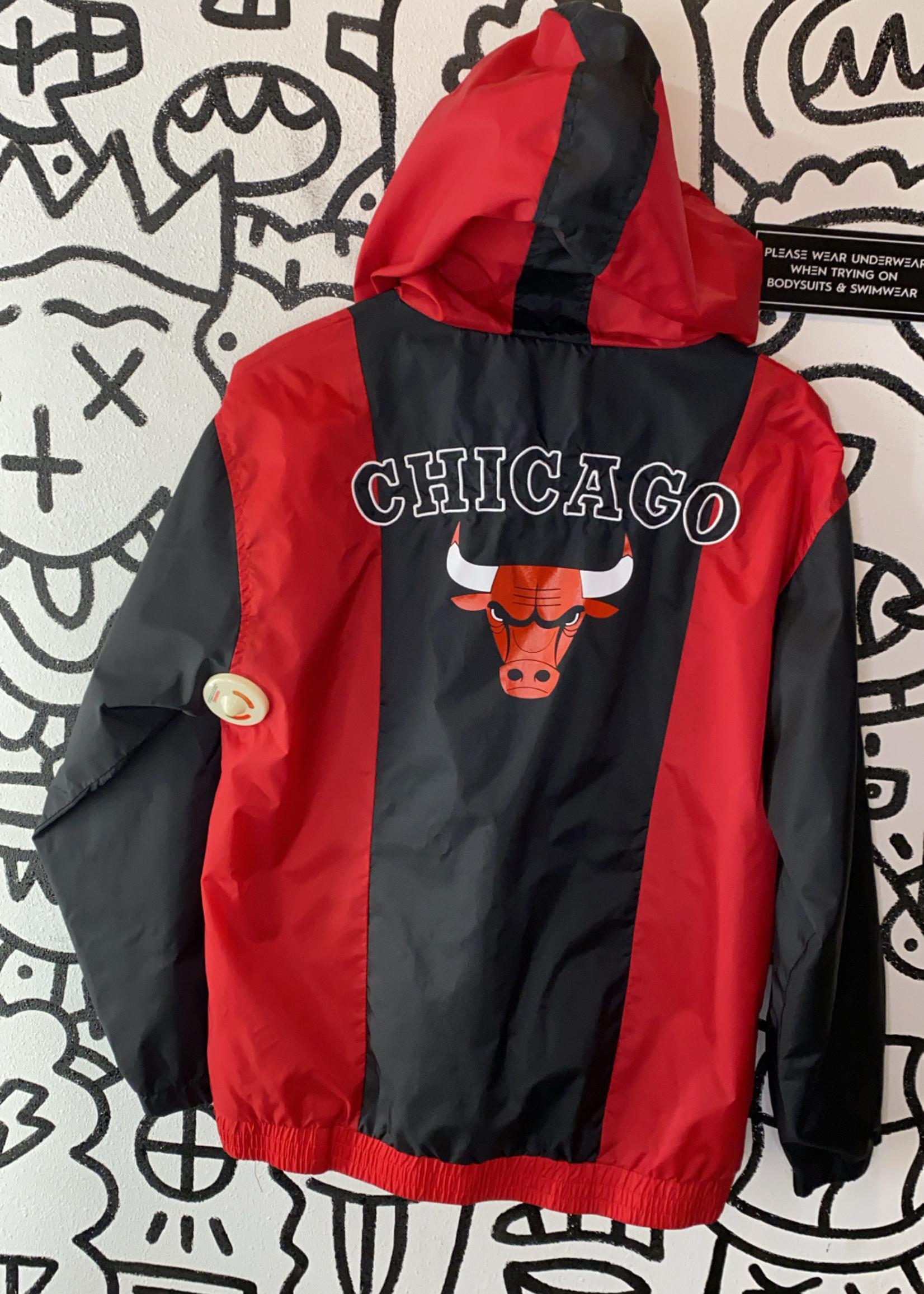 Chicago Bulls windbreaker pullover M