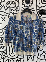 Division of Graff Vintage Short Sleeve Blue Shirt L