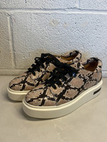 NWT Linea Paolo Reptile Print Platform Sneakers 6.5