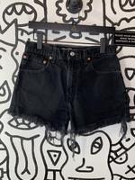 "Levi's Black Cutoff Shorts 517 31"""