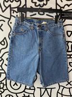 "Vintage 1996 Levis Regular Wash Orange Tab Bermuda Short 32"" L"