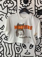 Vintage Hooters White Crop Top S