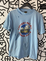 Vintage Caesar's Palace Grand Prix Baby Blue Tee As Is L