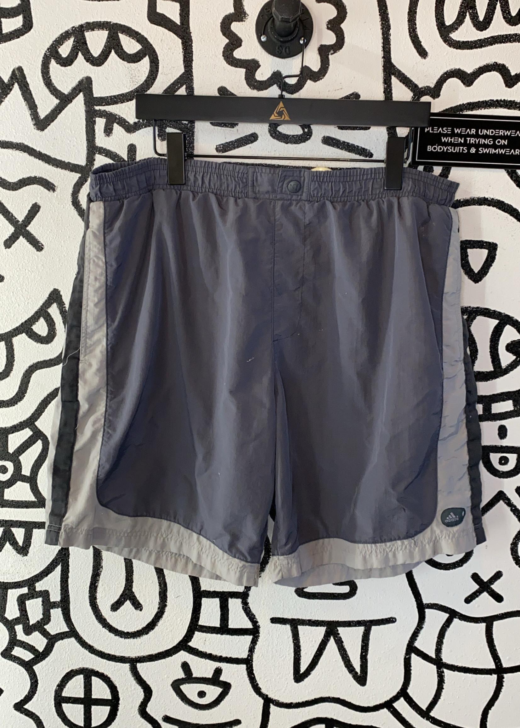 Vintage 90's Adidas Grey Swimsuit XL