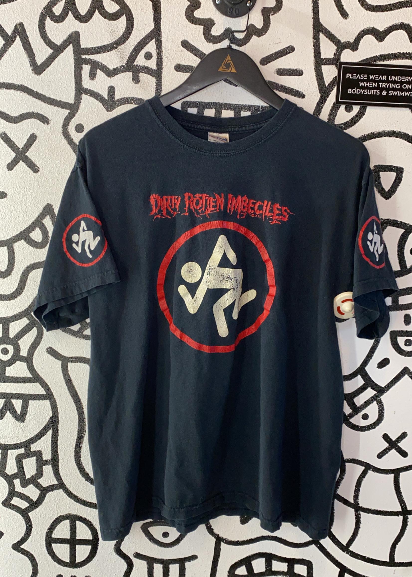 Vintage Dirty Rotten Imbeciles Black Shirt L