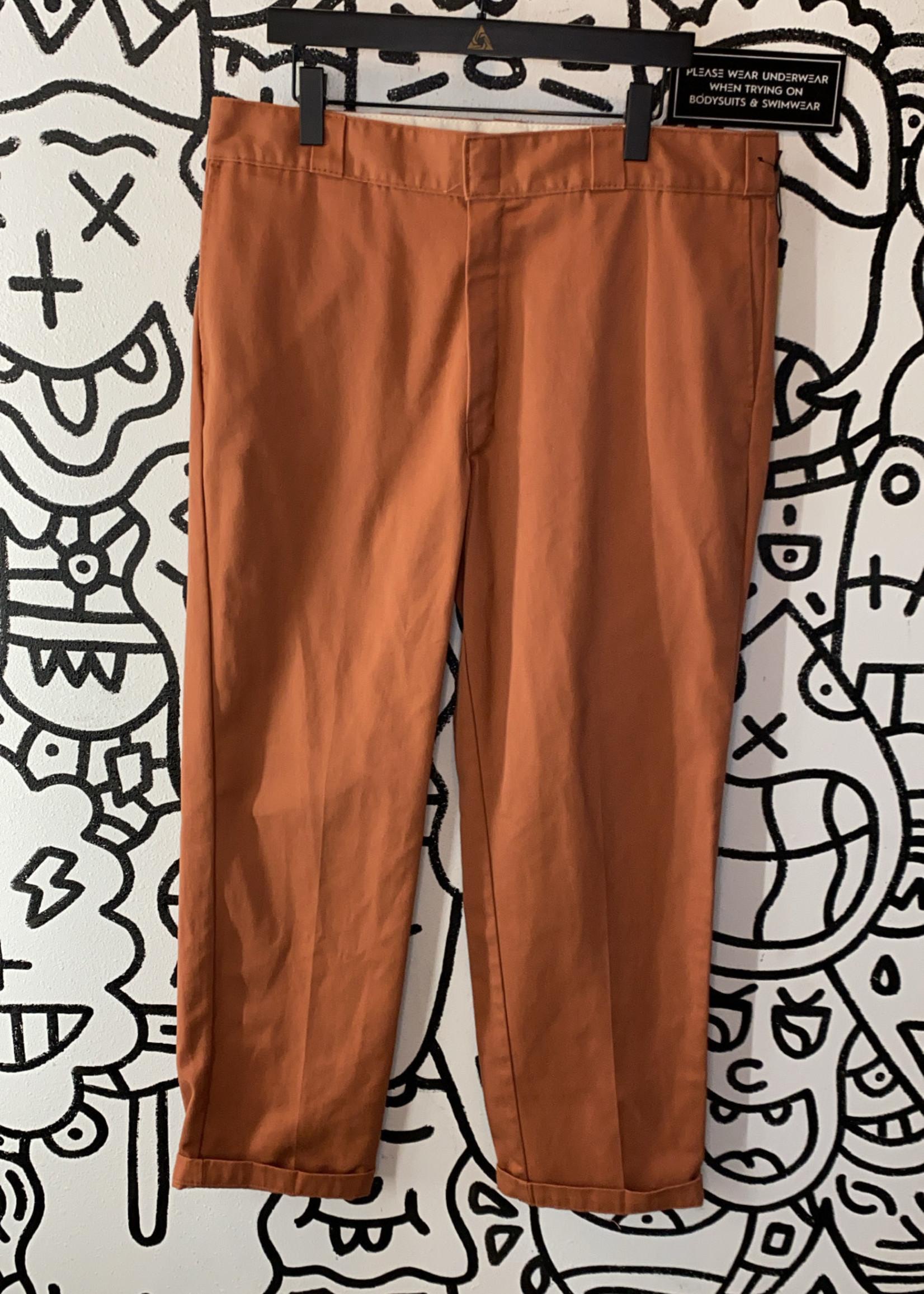 """Dickies 874 Original Fit Rust Color Pant 38"""""""