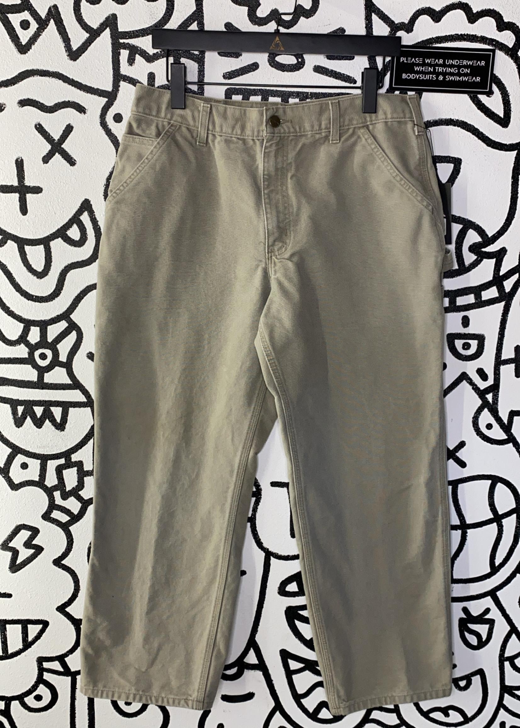 "Carhartt Tan Cargo Pants 34"""
