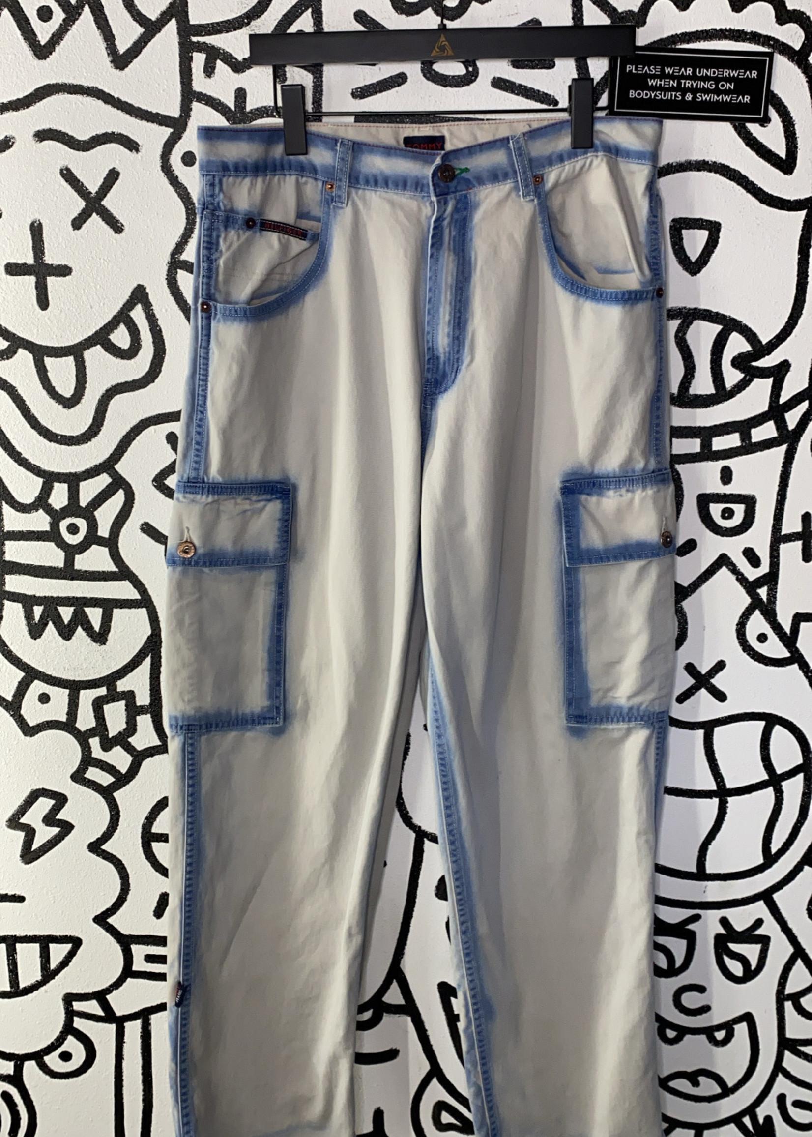 Tommy Jeans Vintage light grey cargo pants 34