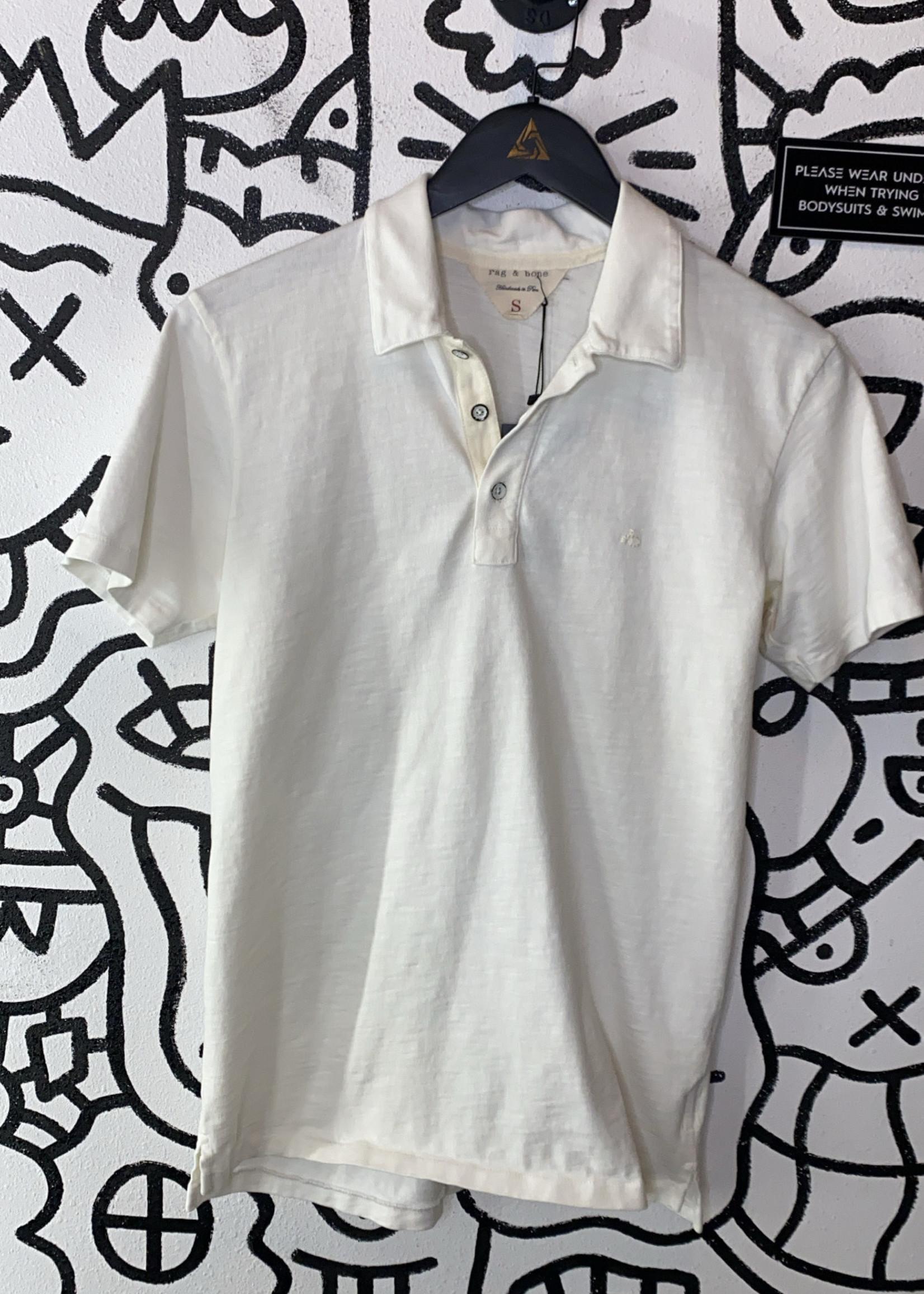 Rag & Bone White Polo (Retail: $100)