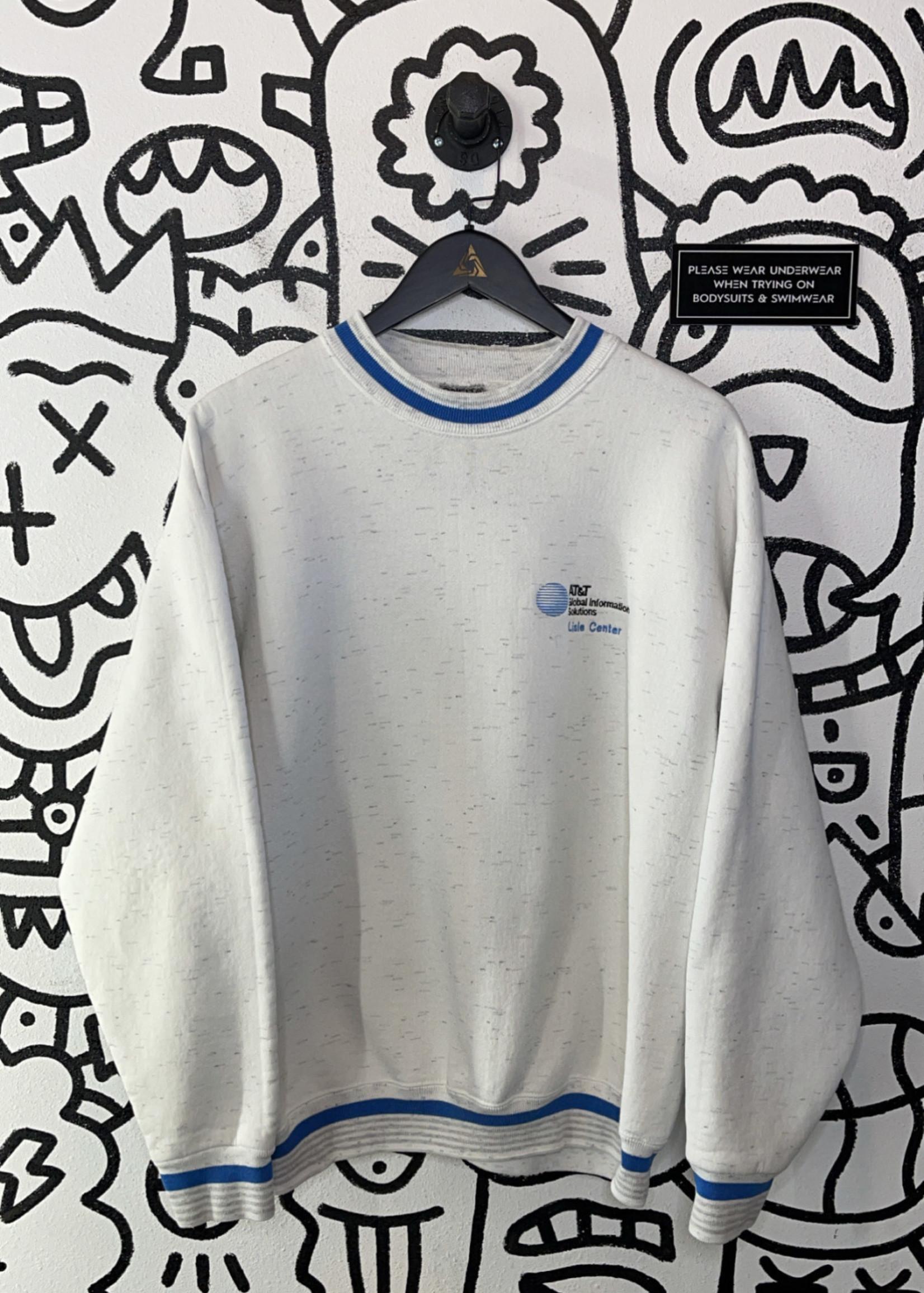 Vintage white luxor t shirt L