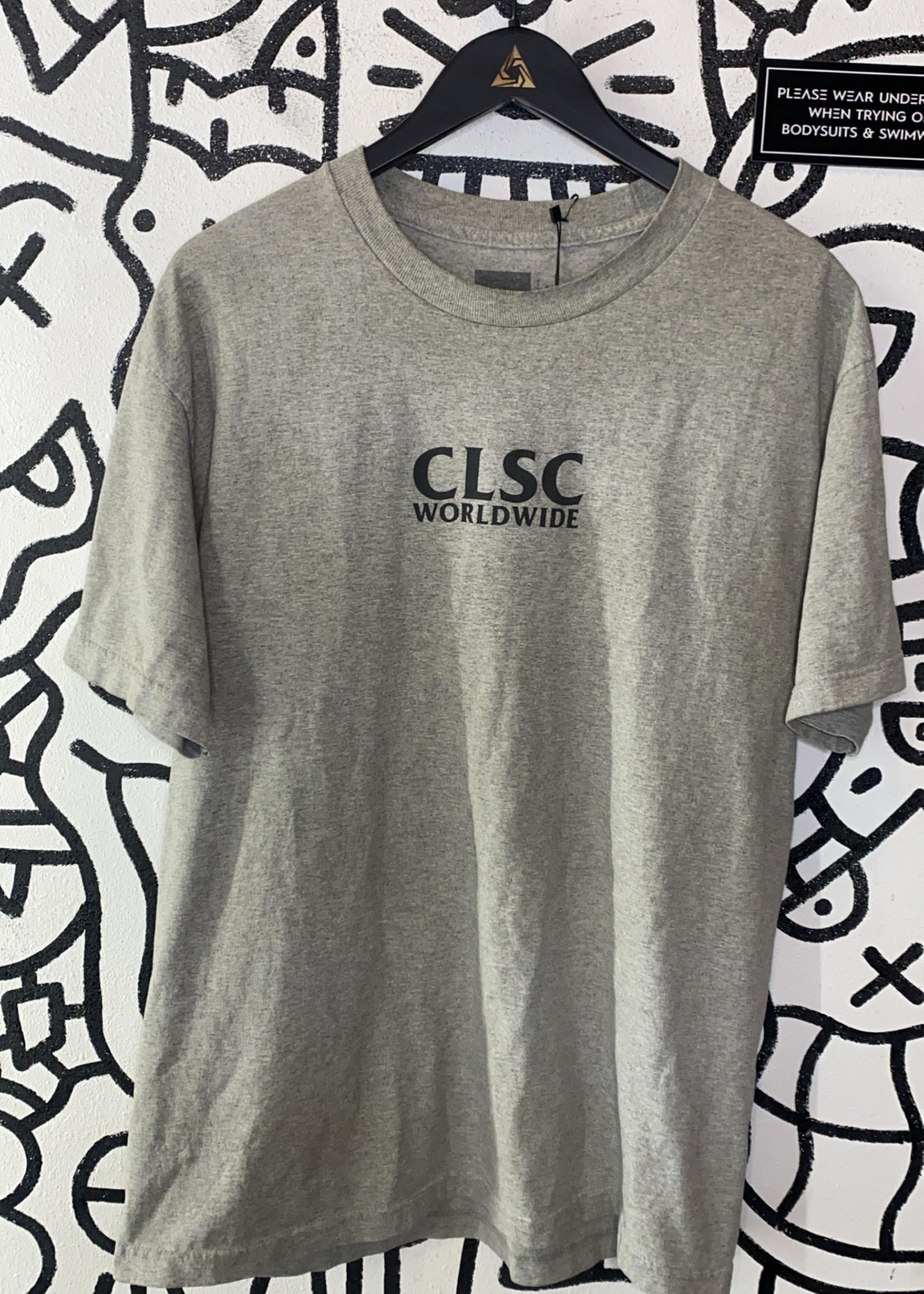 CLSC Worldwide Grey Tee L