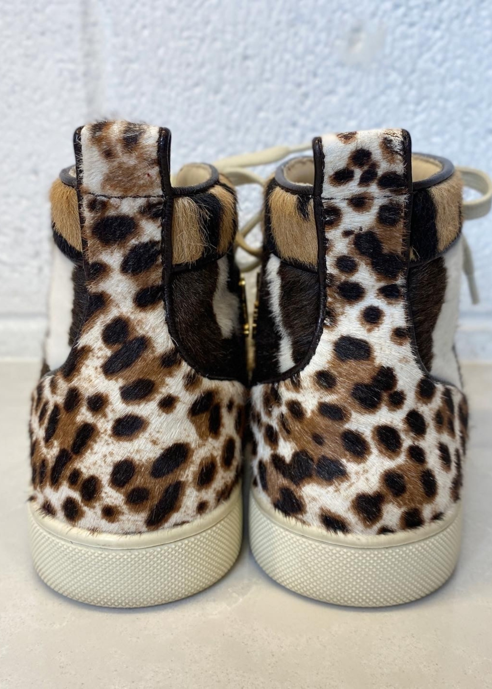 Christian Louboutin Calf Hair Sneakers 37