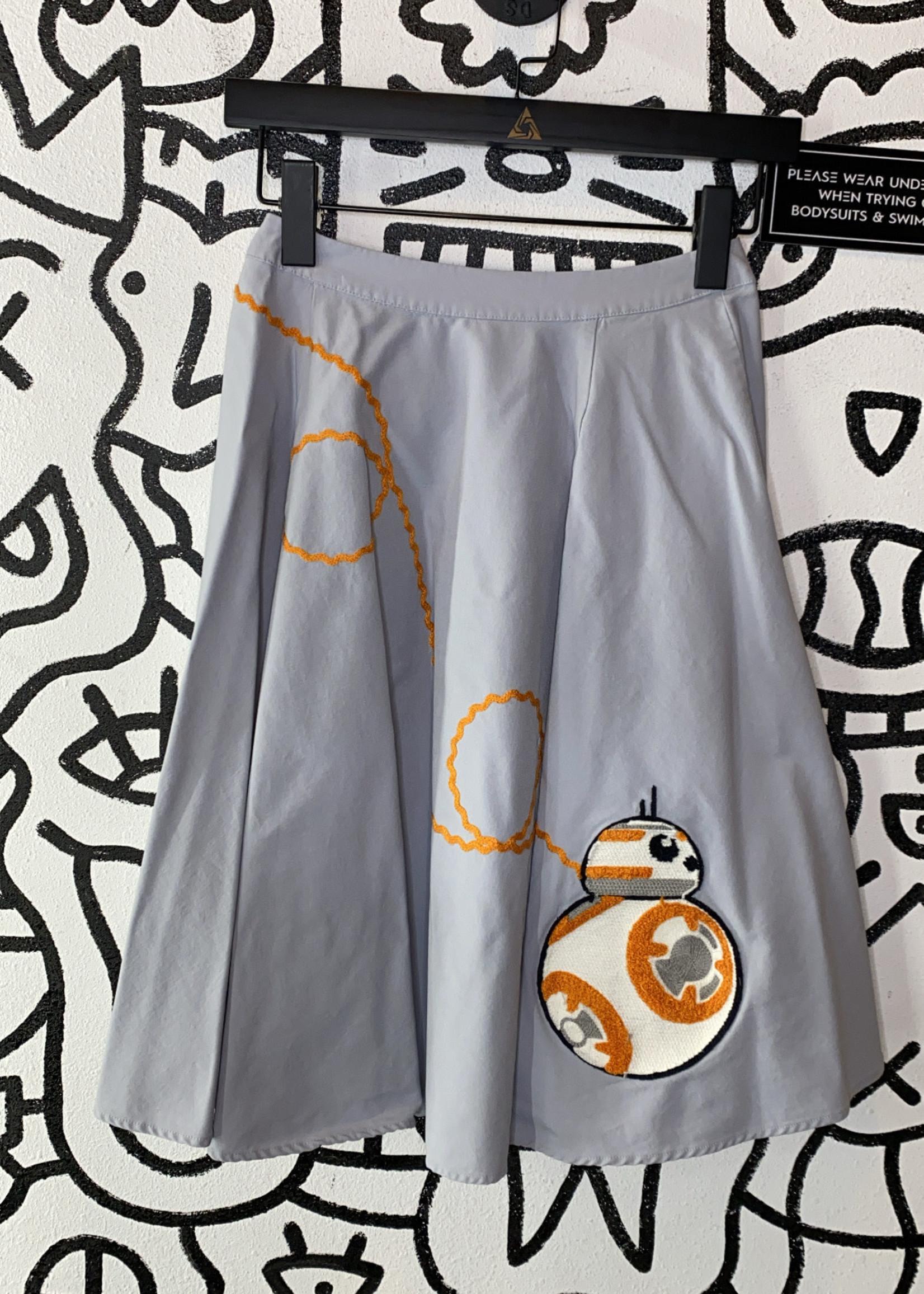 "Star Wars Her Universe Blue Skirt 25"""