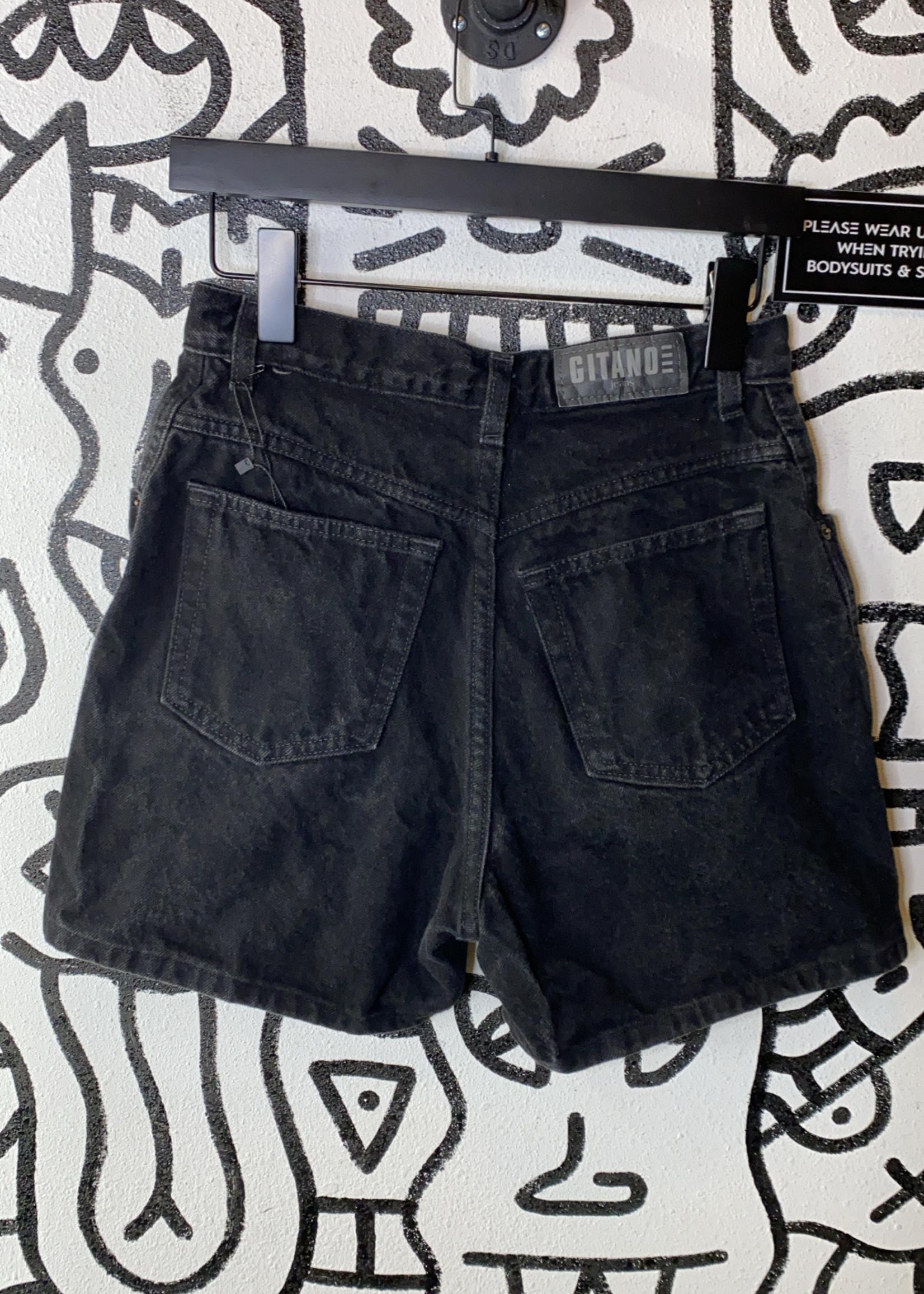 Gitano black vintage high waisted shorts 27