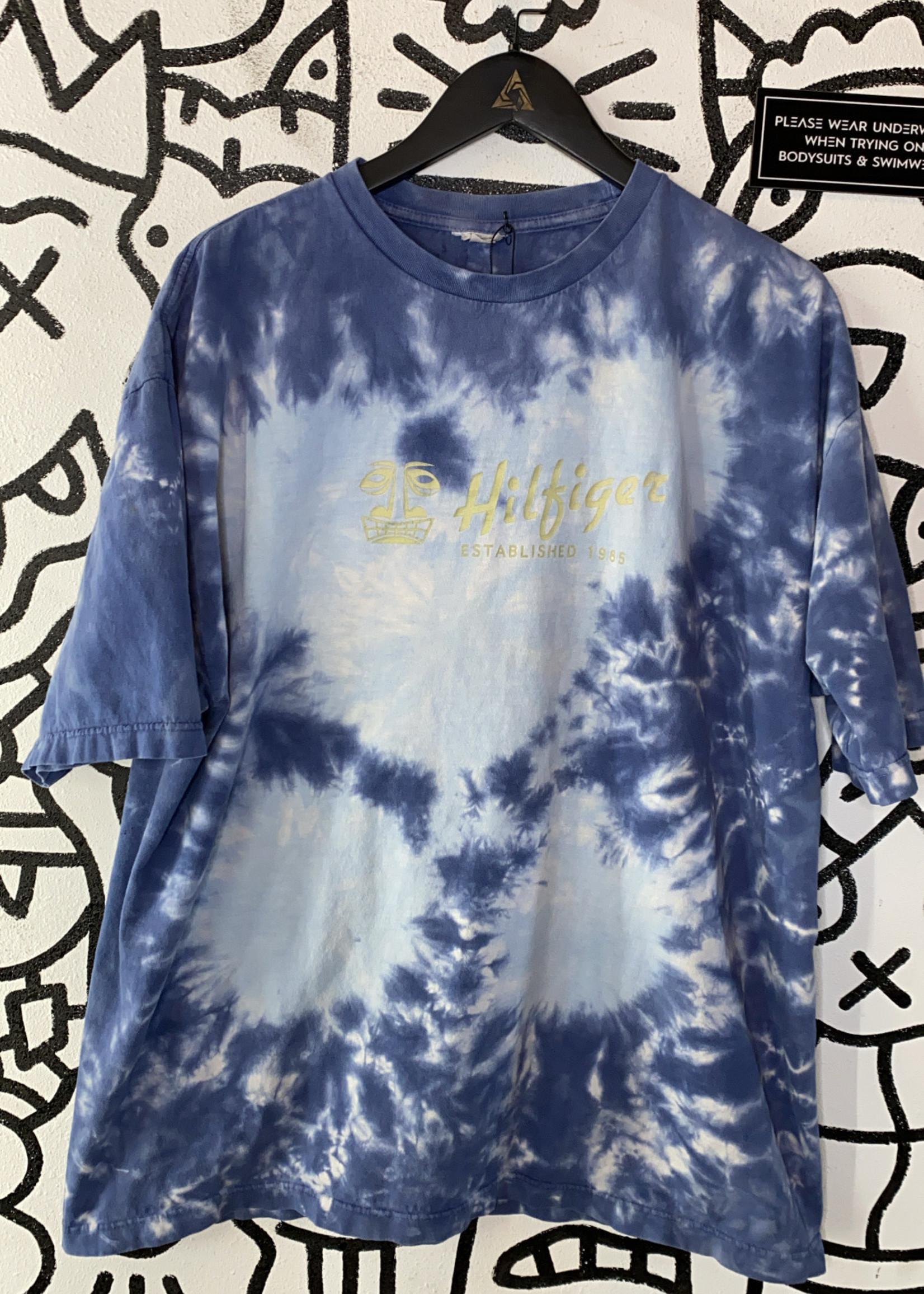 Hilfiger Tie Dye Blue Tee XL