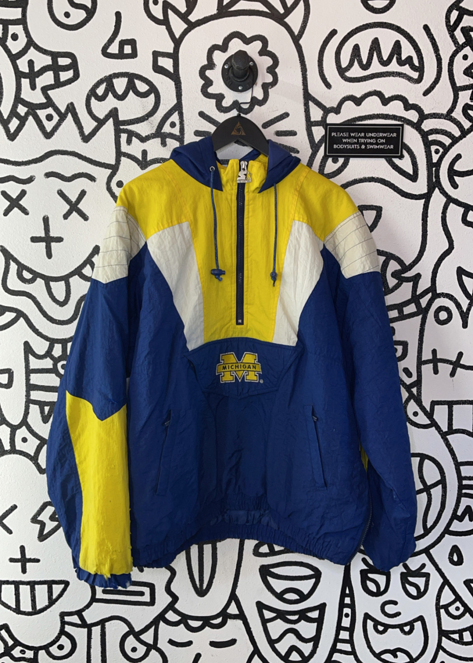 Michigan 1/4 Zip Jacket XL