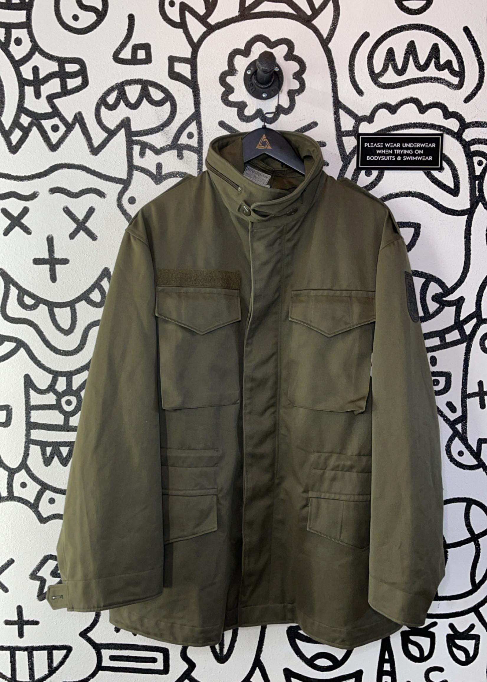 Austrian Military Green Jacket XL