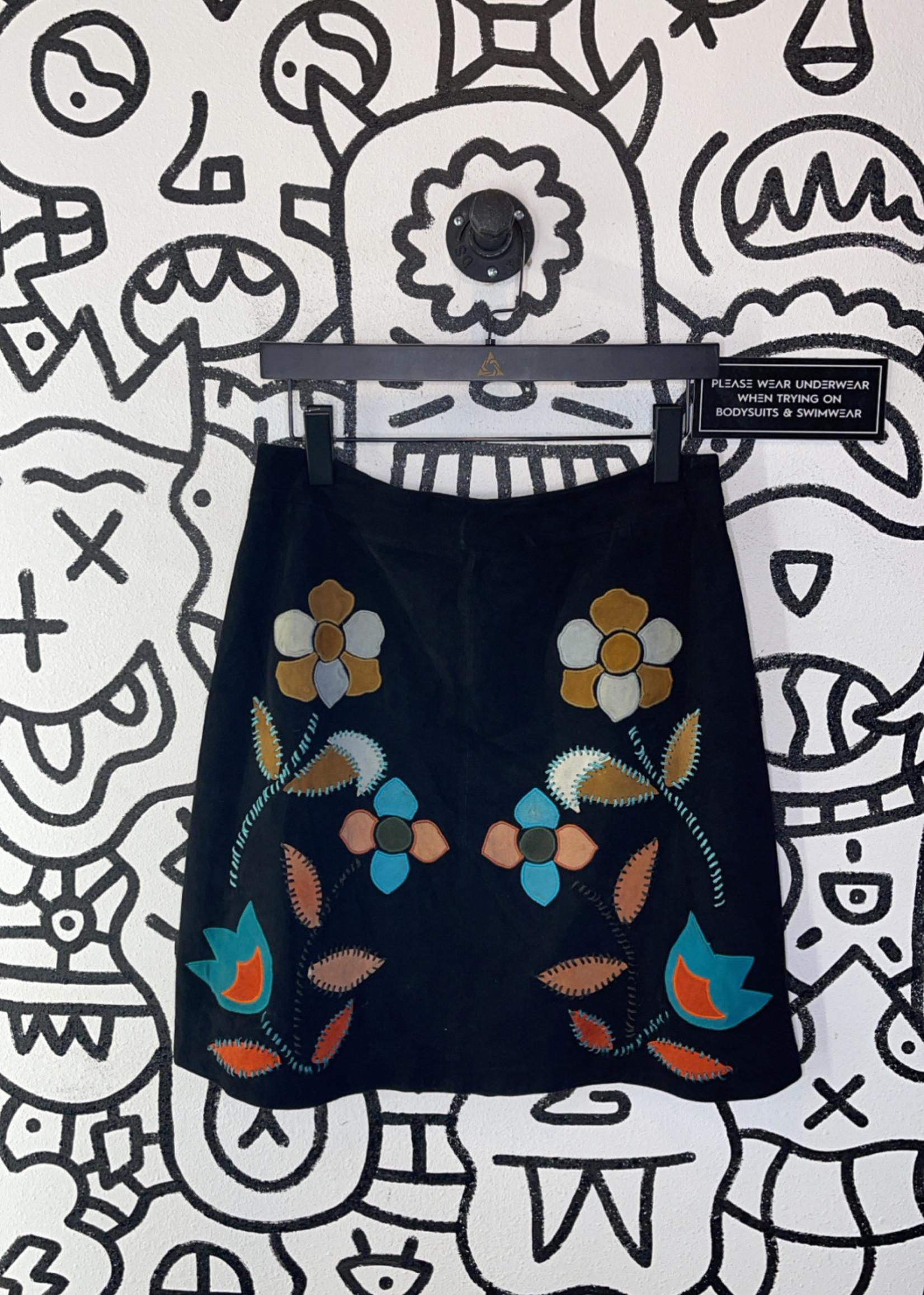 Moulinette Soeurs seude embellished skirt 6