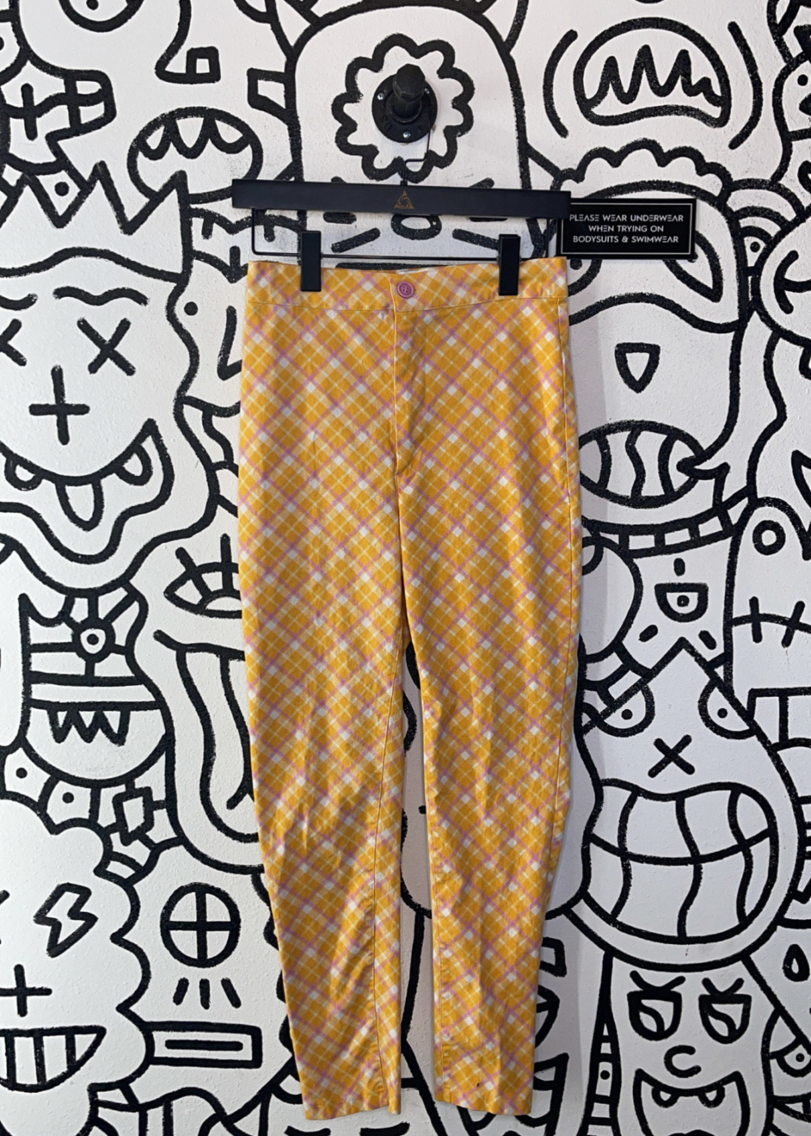 Urban Outfitters orange high waisted trousers 6