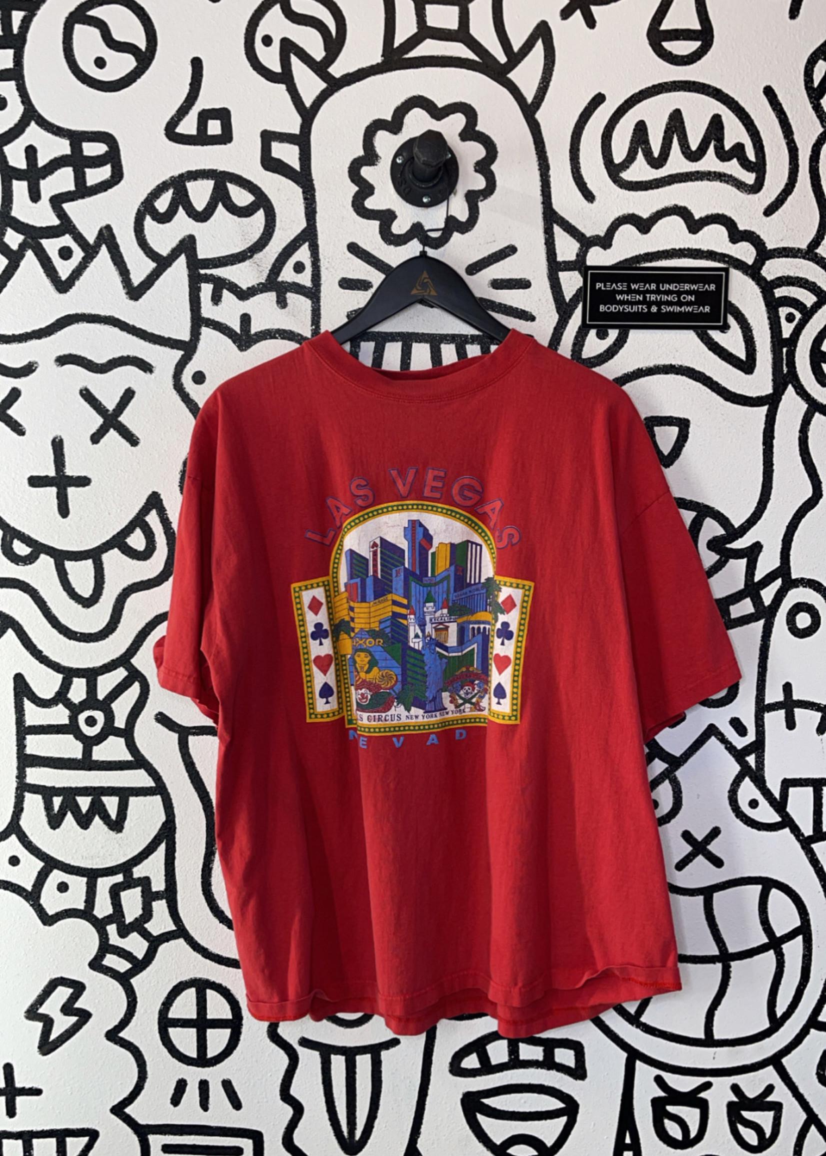 Vintage Red Las Vegas Nevada Shirt XXL