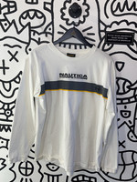Vintage Nautica Competition White Long Sleeve Shirt L