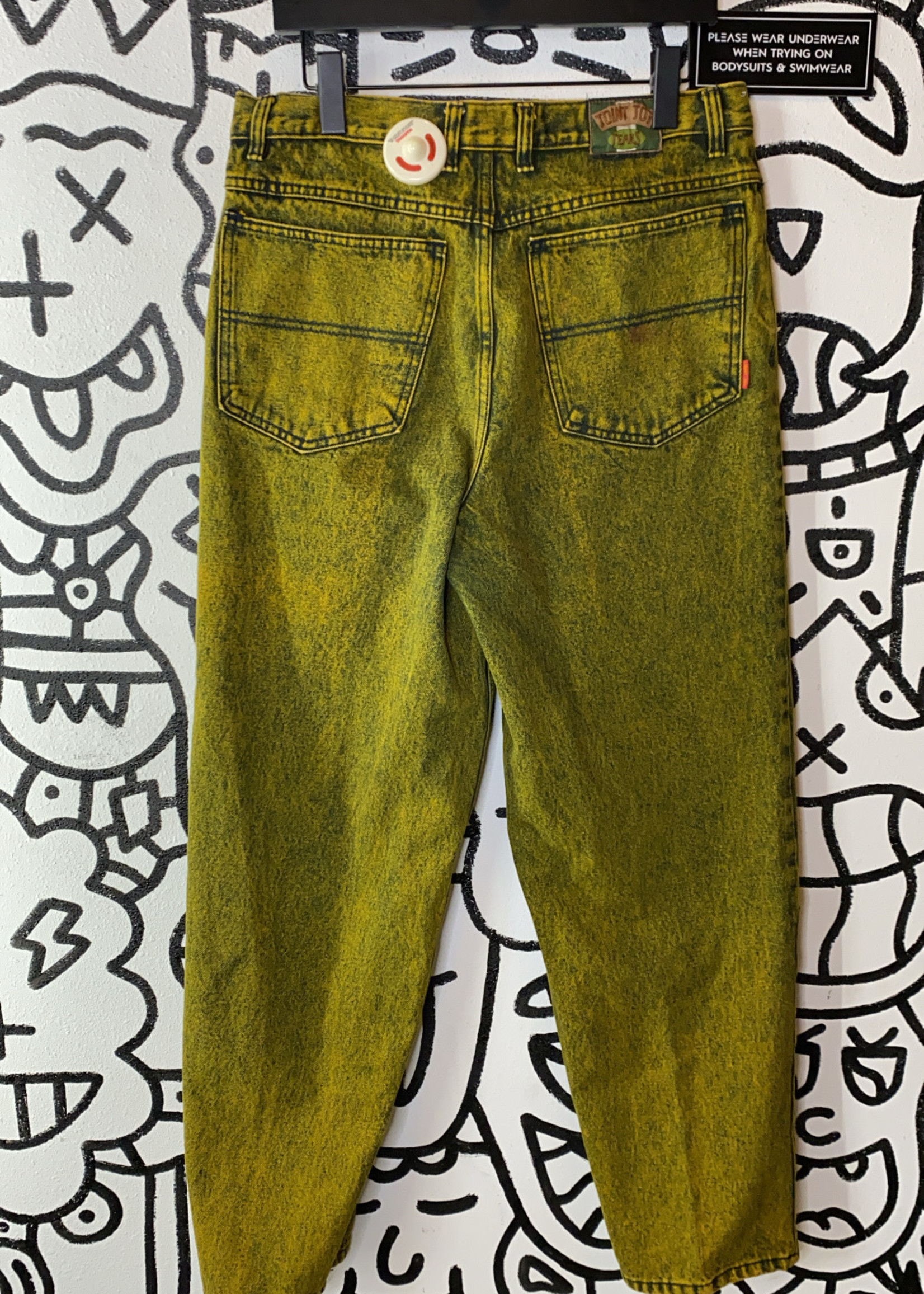 """Joint Joy Vintage Yellow Mom Jeans 34"""""""