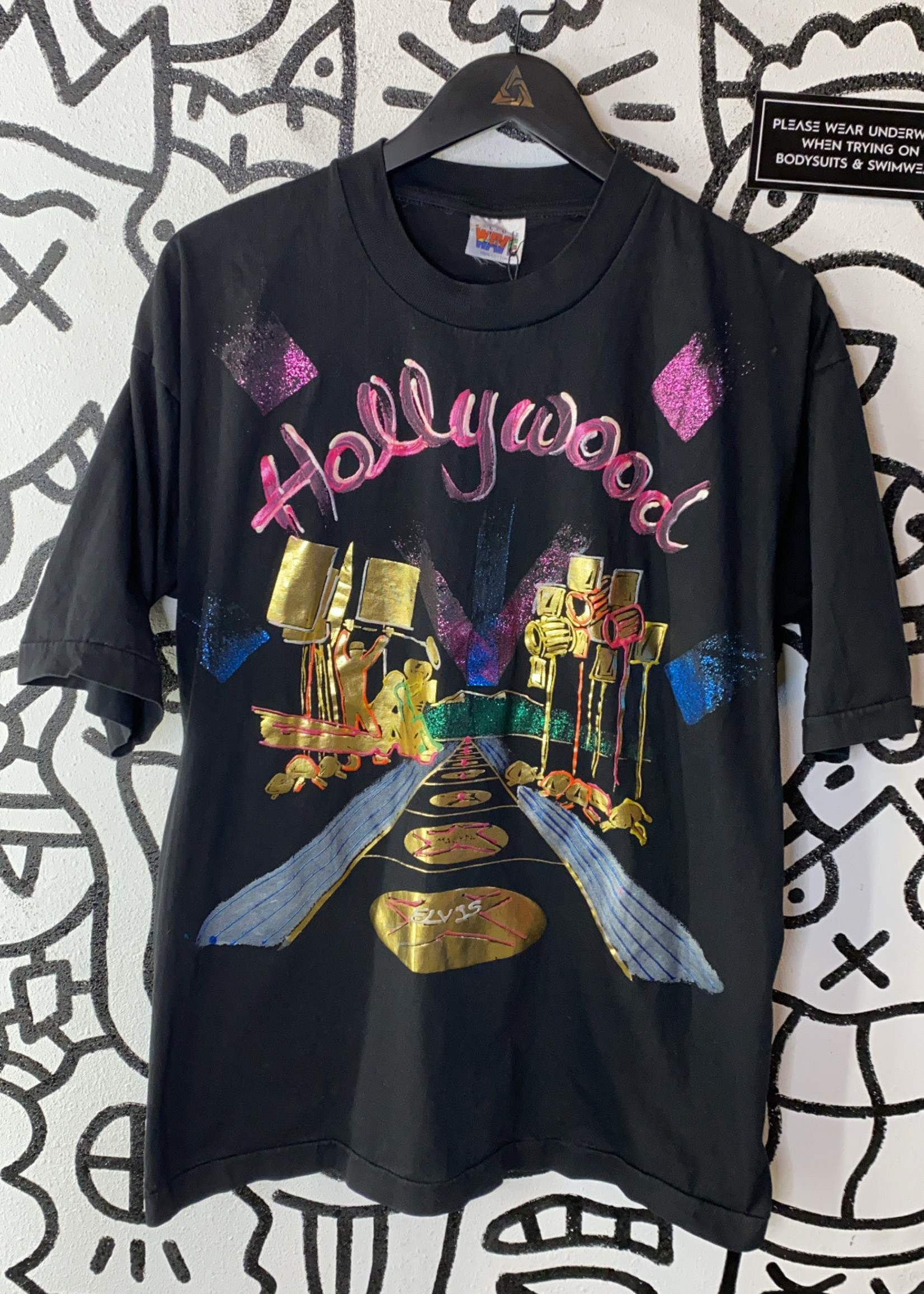Hollywood graphic t shirt