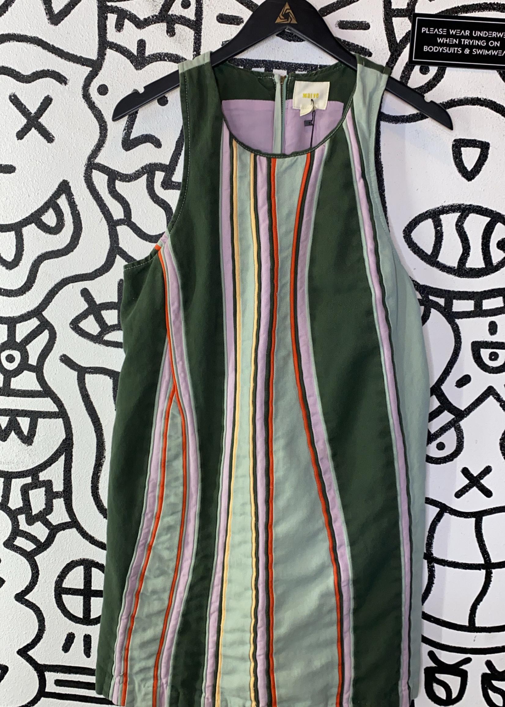 Maeve Green Multicolor Dress M