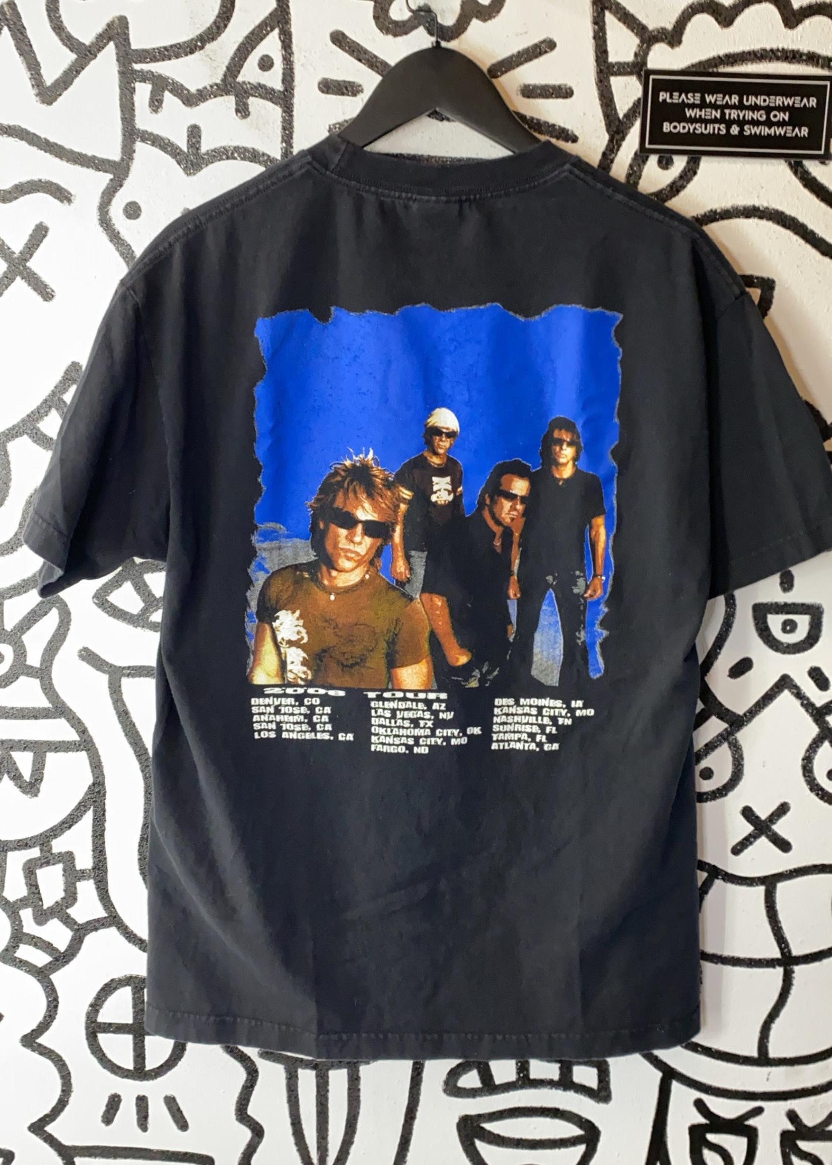 Bon Jovi 2008 Black Tour Tee L