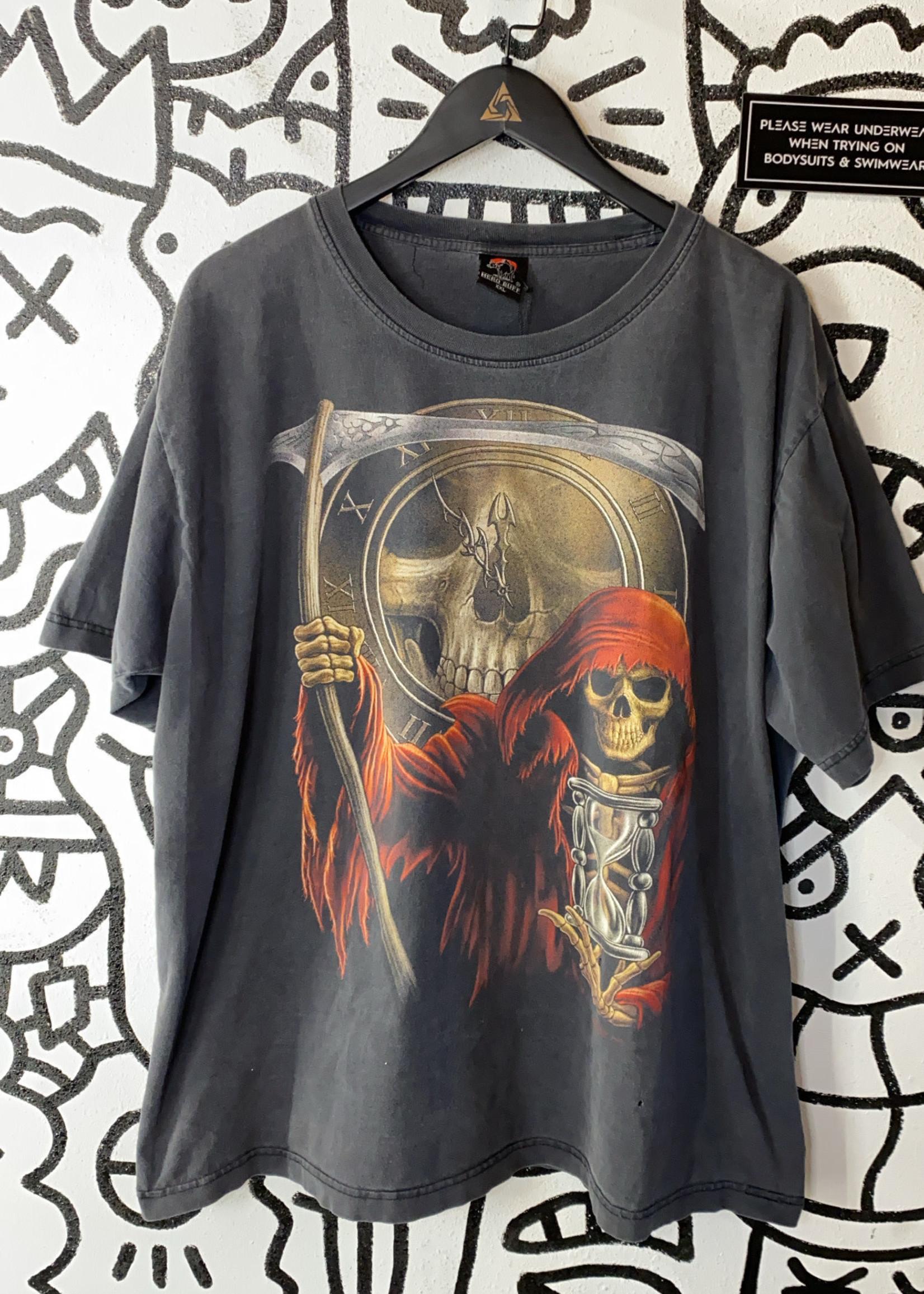 Hero Buff Faded Grim Reaper Tee XXL