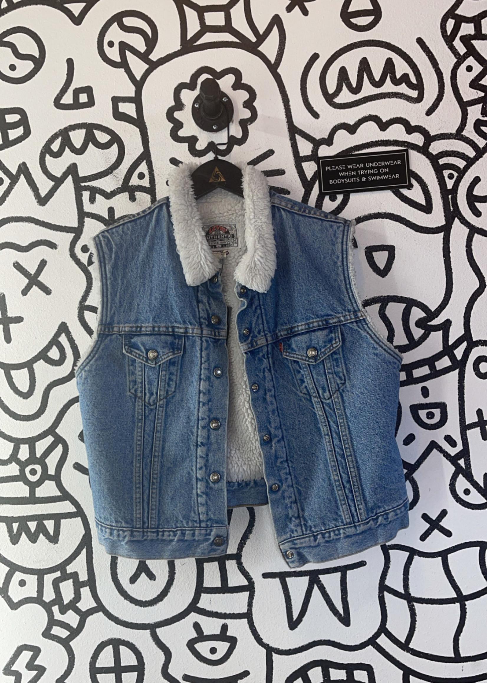 Vintage '94 Levi's Fleece Lined Vest L