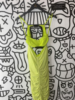 NWT NBD Revolve green bodycon sinched dress M