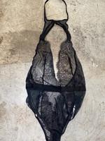 Victorials secret black lace lingerie XS