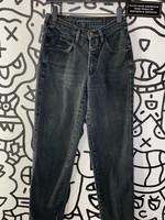 "Girbaud Black high Waisted Vintage mom jeans 26"""