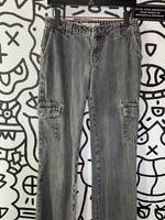 "Tommy Hilfiger Jeans Vintage Grey Cargos 29"""