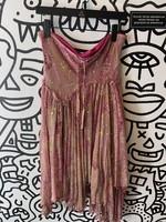 Diane Von Furstenberg Pink Embellished Skirt