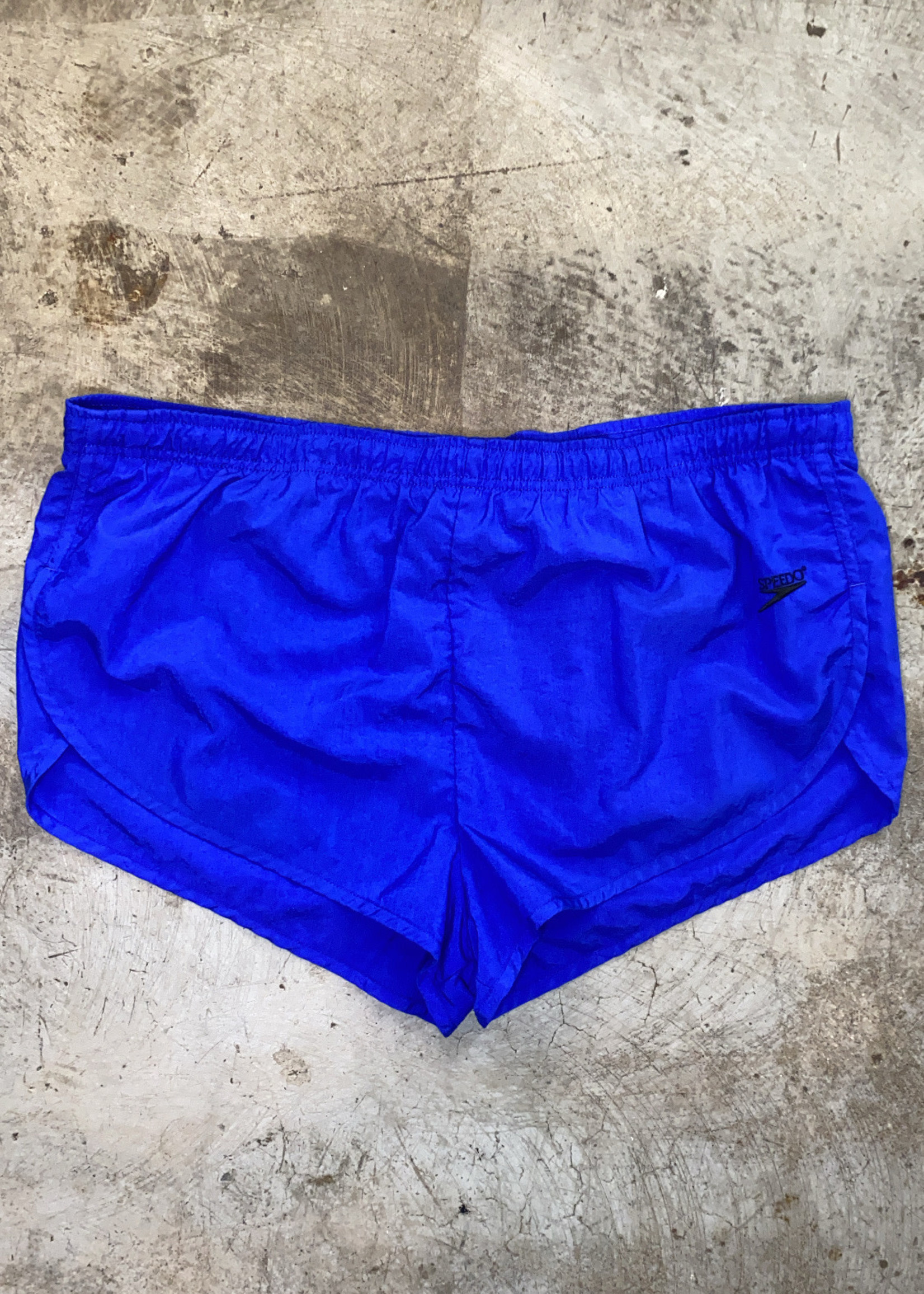 "Vintage Speedo Blue Swim Shorts 40"""