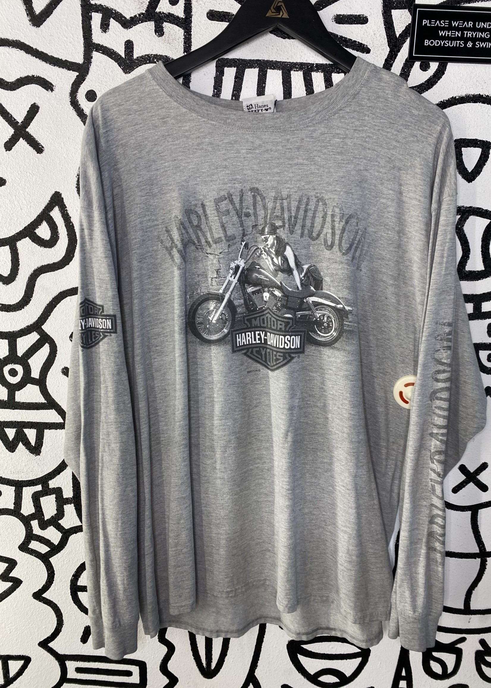 Harley Davidson Grey Long Sleeve XL