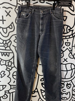 Vintage 1981 Levi's Silver Tab Relaxed Fit Black Jeans 36x32