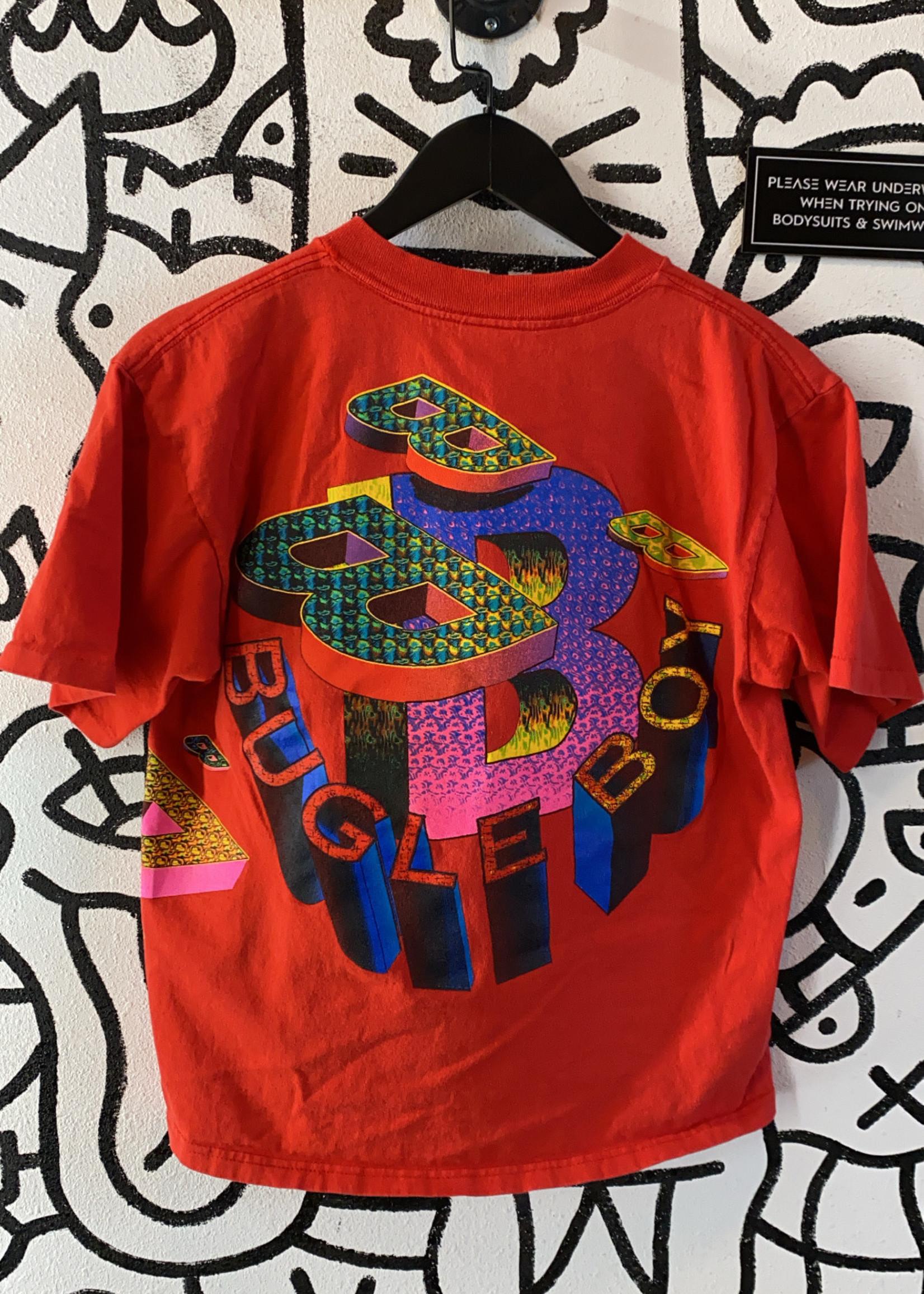 Vintage Red Bugle Boy Big Back Graphic Shirt L