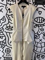 Ted Baker White/Off White Dress XS