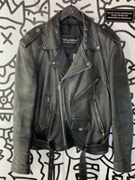 Wilson's Worn Leather Moto Jacket M