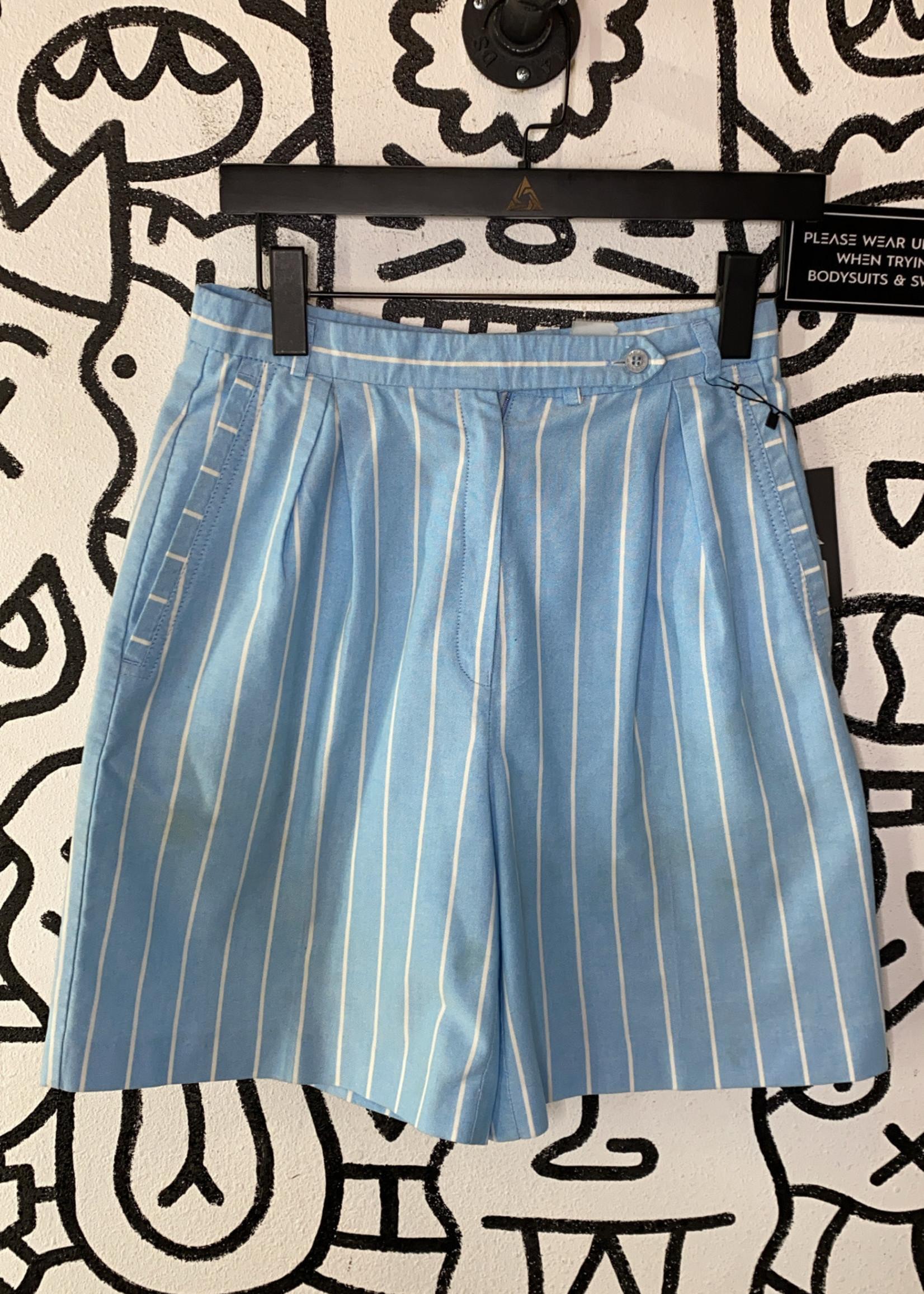 Vintage Head striped trouser shorts 26