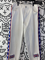 Vintage LBZ red white and blue star spangled jeans 40